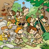 24 ressources pour proposer une animation sur le thème de la préhistoire – Illustration © Patrick Goulesque