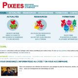 Pixees : un site ressource sur le numérique et le code informatique