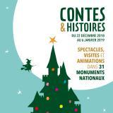Contes et histoires dans les Monuments nationaux