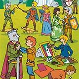 """Modèles et gabarits en lien avec le dossier """"Une semaine au temps des princesses et des chevaliers"""" du Journal de l'Animation 171"""
