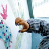 Peindre proprement avec les doigts