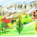 Trace des saisons : octobre en montagne