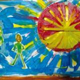 Activités créatives avec des assiettes en carton