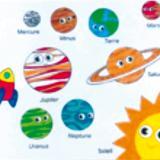 Le système solaire et la galaxie en pot