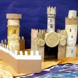 Un château fort en carton