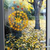 Une décoration de fenêtre