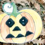 Une citrouille et une momie effrayantes pour Halloween