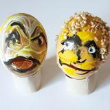 Têtes d'œufs (de Pâques) !